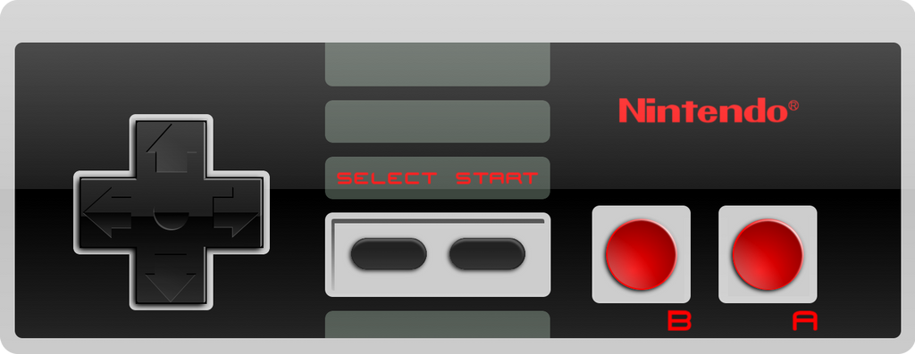 Nes Controller Hd Wall...