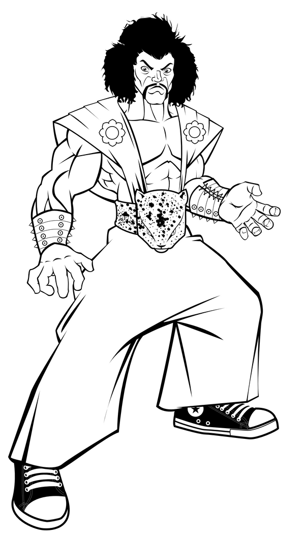 Show Me The Color Loden Sketch Coloring Page