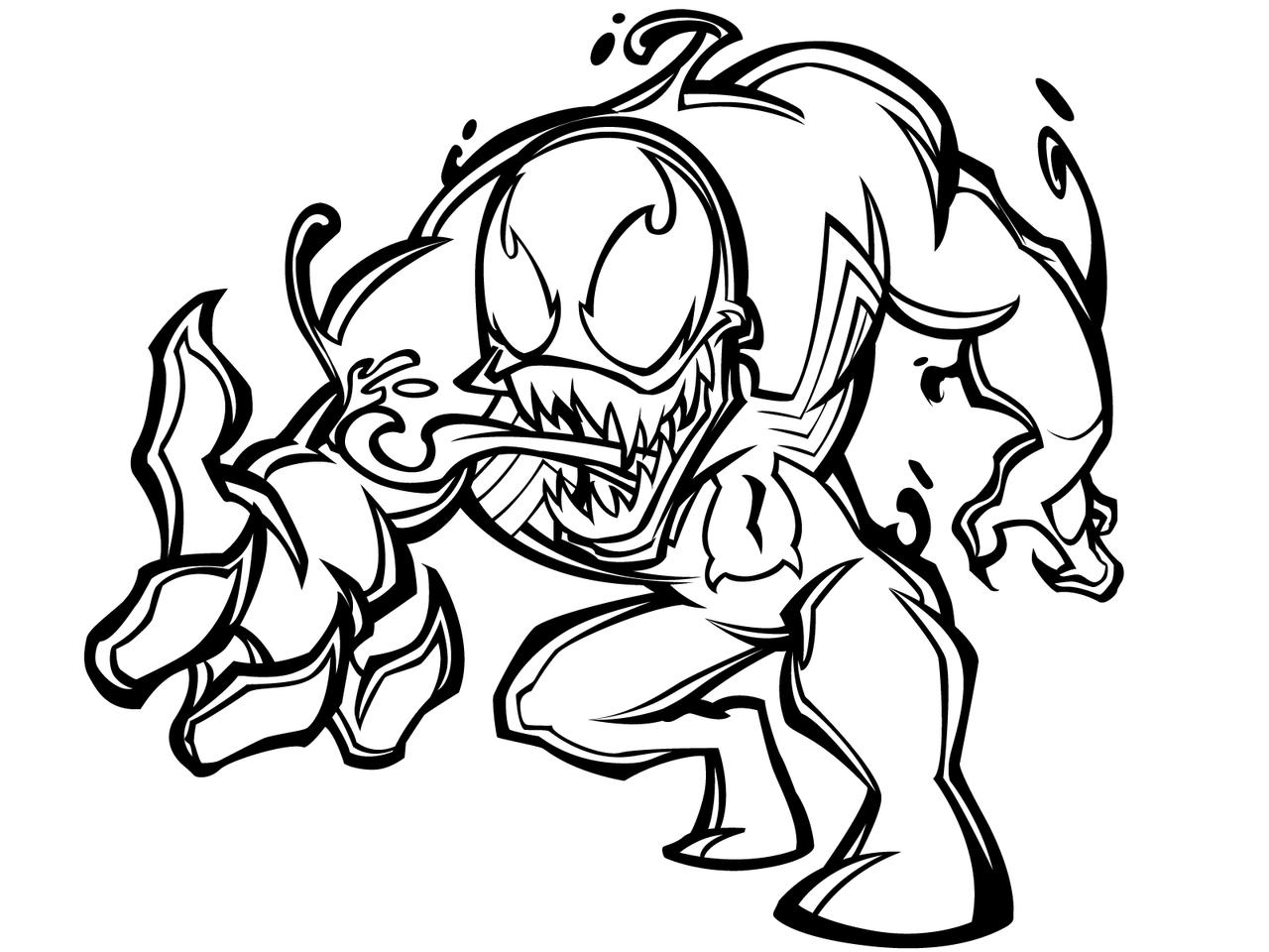 greatLP 39 s Chibi Venom Inks by sircle