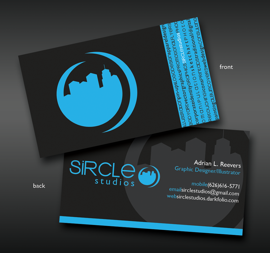 My business card by sircle on deviantart colourmoves