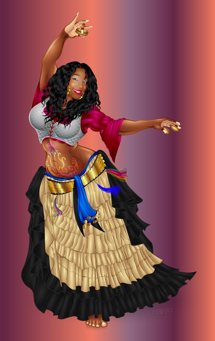 Natalie - Gypsy Lady by sircle