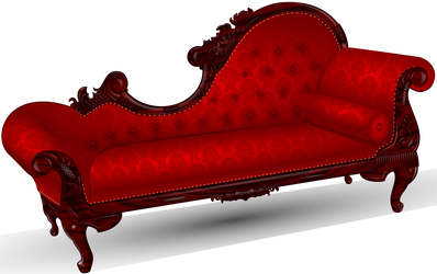 Victorian Fainting Couch by sircle