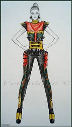 Inspiration of ,,army' style 4 by Verenique