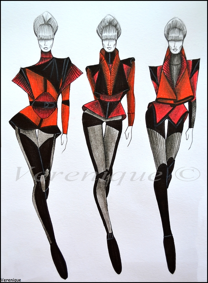 Red fall collection 2. by Verenique