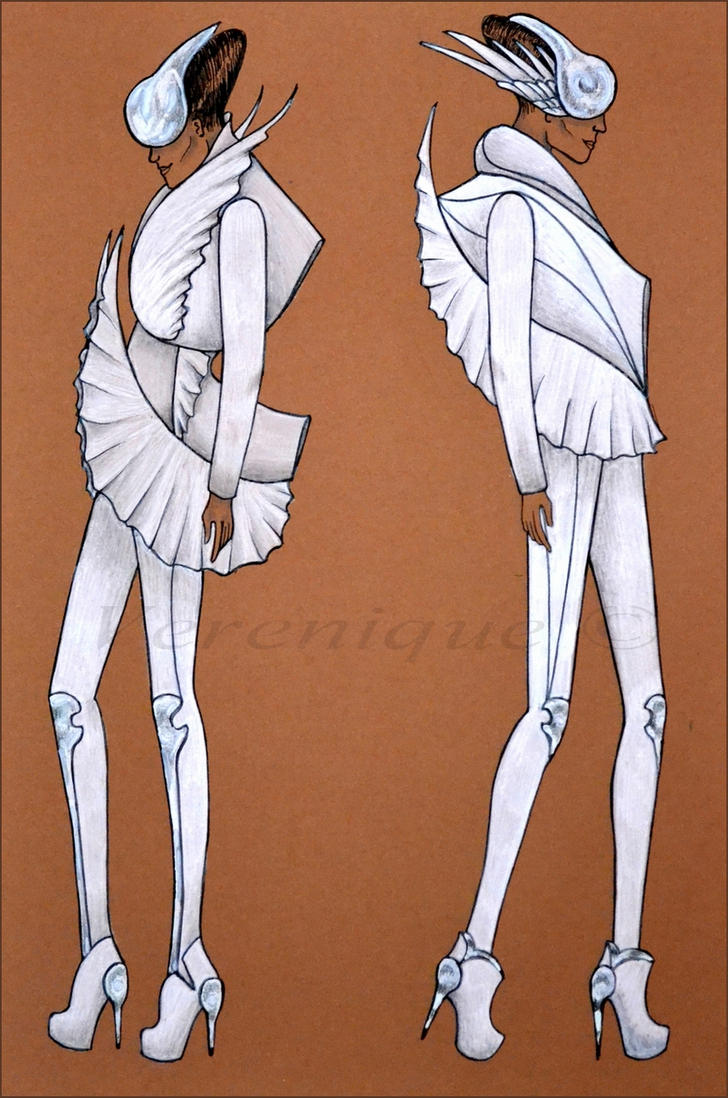 White avian collection 1. by Verenique