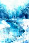 Blue winter I.