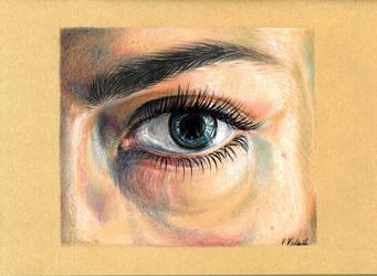 Blue eye by Verenique