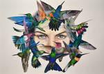 Birdwoman by Verenique
