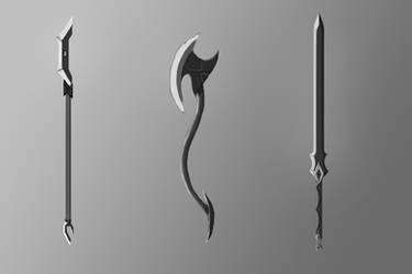 Fantasy Weapons Set #1 by ExJulian