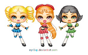 .:Power Puff Bratz:. by oyr2up