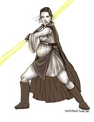 Rey Jedi by yennMisakato