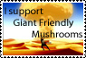 Giant Mushroom Stamp by BlackMagician88