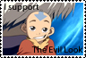 Aang's Evil Look Stamp by BlackMagician88
