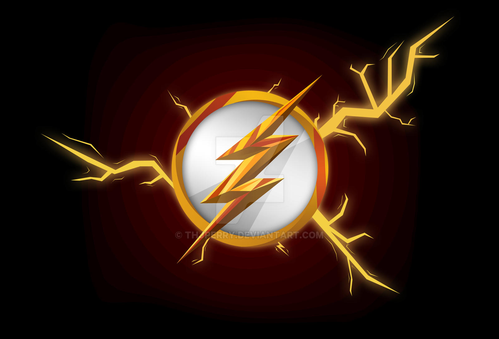 the flash emblem wallpaper by thjperry on deviantart