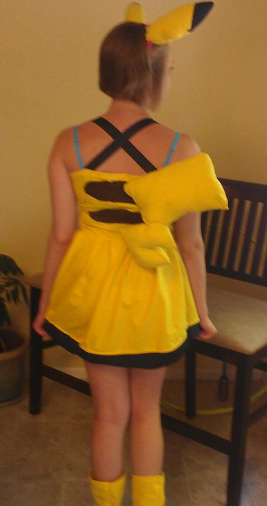The Pikachu Dress! (Back) by IchiharaAmaya