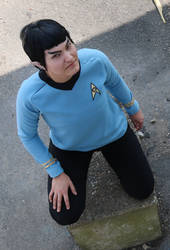 Star Trek Spock 1 by Kitsune-Shay