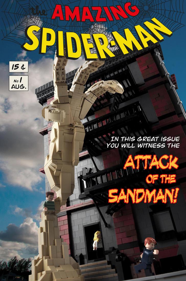 Spider-Man vs. Sandman by Xenomurph