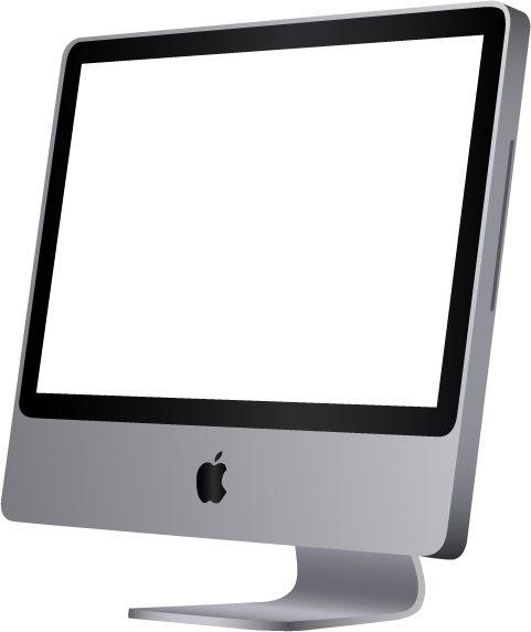 Imac Vector By Lydiie On Deviantart