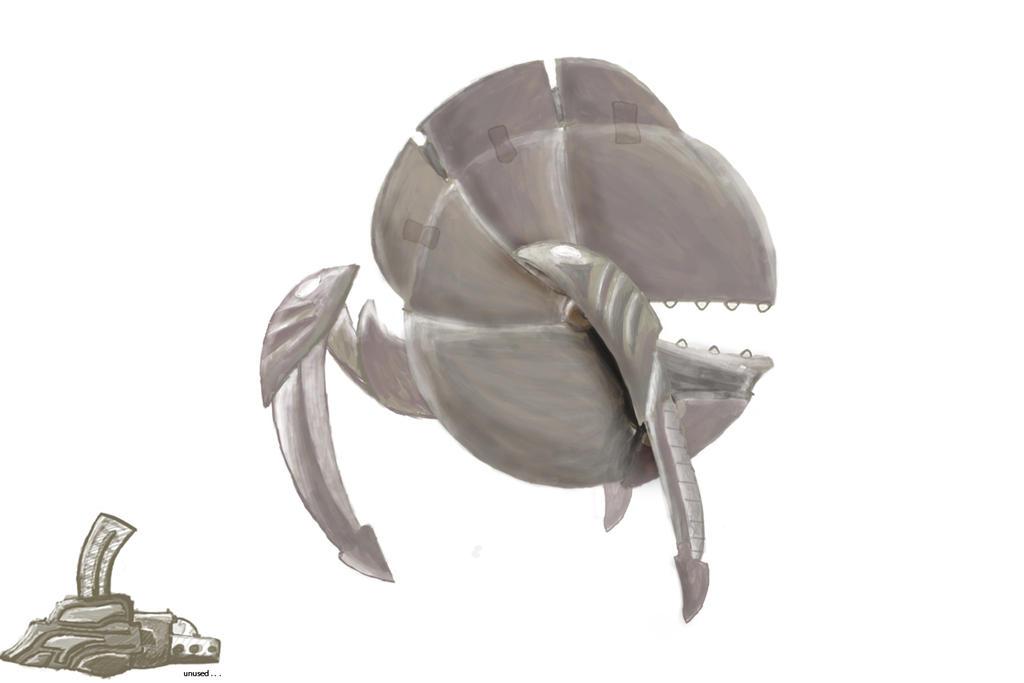 Terra-Bot Concept Art by Brammelam