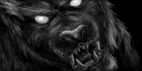 Korytarz - Page 5 Warewolf_by_unicornya-d4hc8q9
