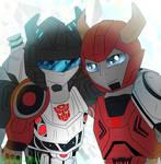 Transformers FOC Jazz and Cliffjumper (request)
