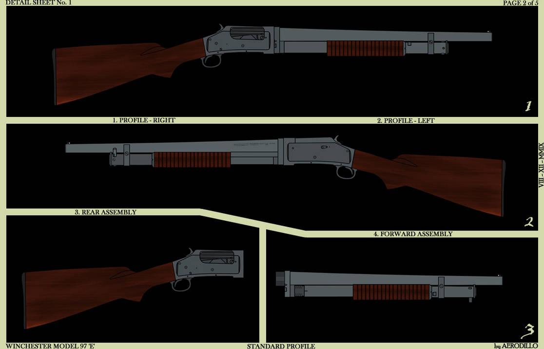 Winchester 97 Detail I by AeroRat on DeviantArt