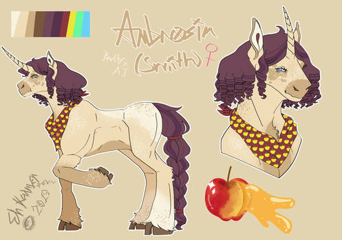 MLP Nextgen: Ambrosia Smith