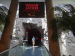 One of Vulcania's ride entrance