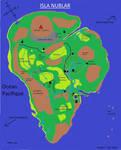 Isla Nublar map