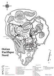 Isla Nublar map (French version)