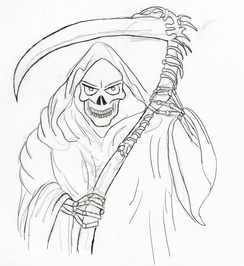 Grim Reaper by xXFade2BlackXx on DeviantArt