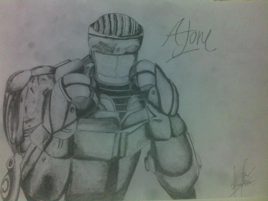 Speed Drawing of Atom