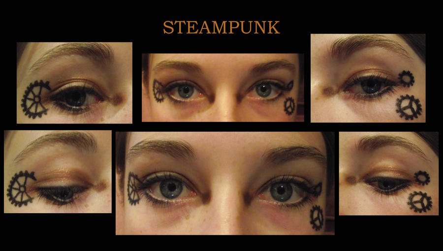 Steampunk Eye Makeup Emo Makeup