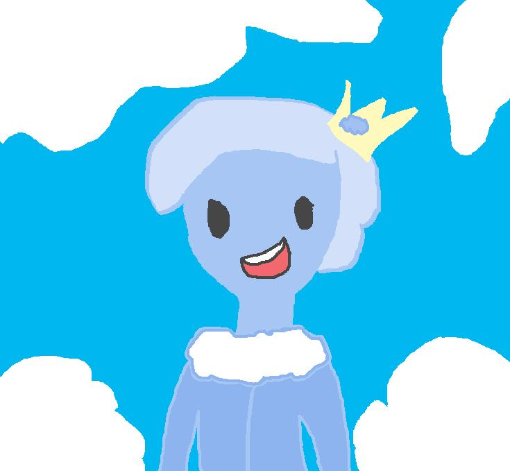 Clod the Cloud Prince *future king* by babybee1