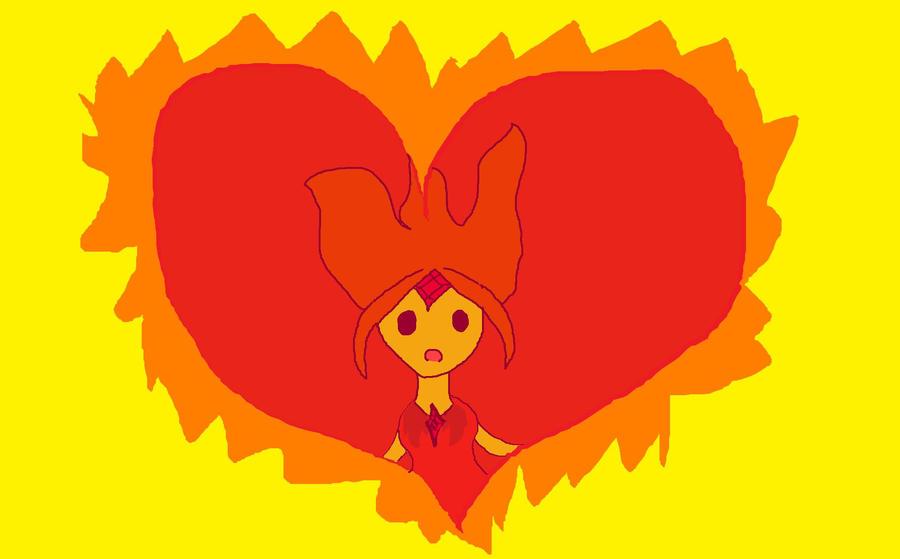Fire inside my heart by babybee1