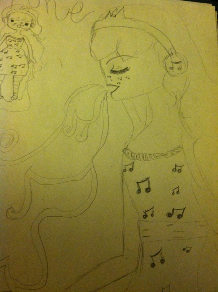 Music Princess by babybee1