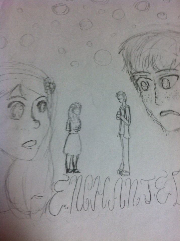 Enchanted*uncolored* by babybee1