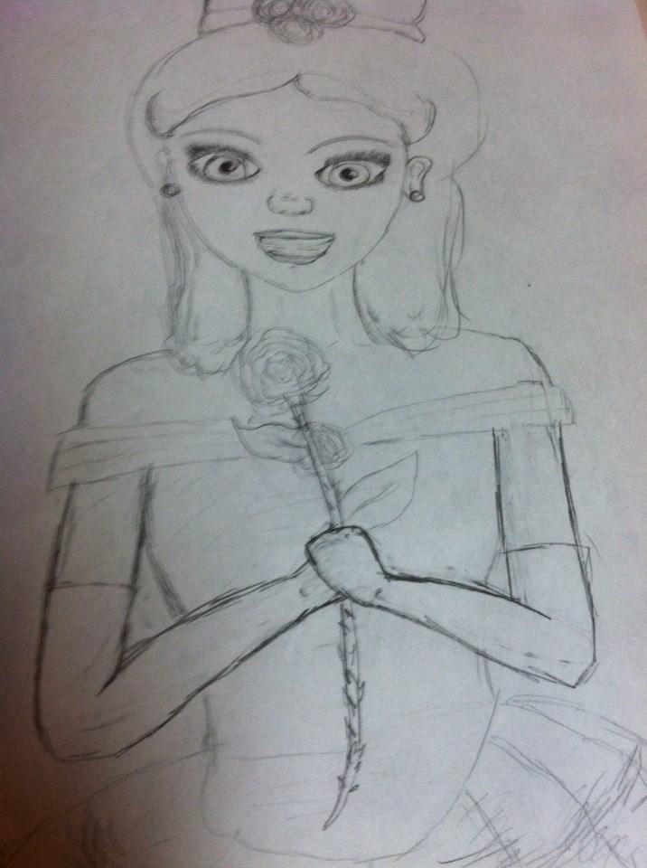 princess belle by babybee1