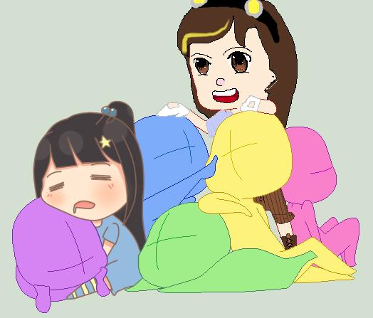 A Little Help From My friends by babybee1