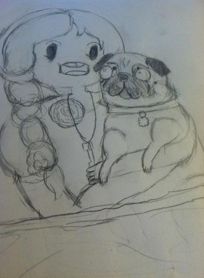 Snuggling Time with Baby and Bee by babybee1