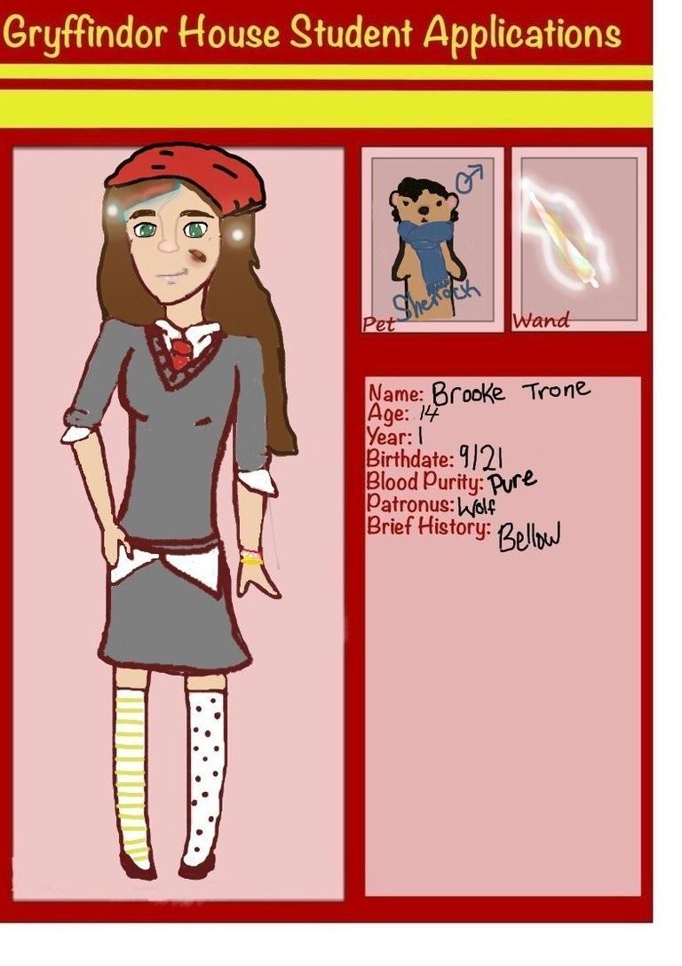 Brooke- Hogwarts by babybee1