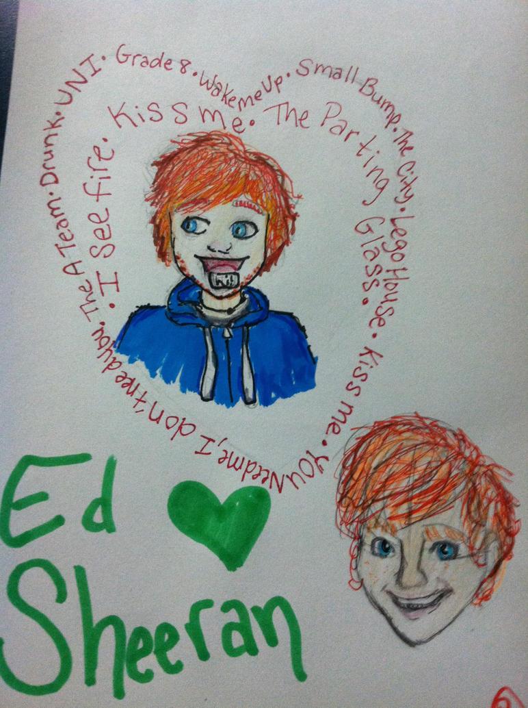 Ed Sheeran by babybee1