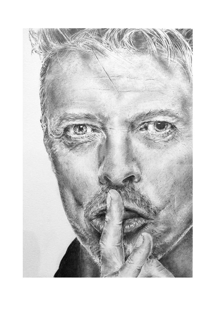 David Bowie by CarlSyres