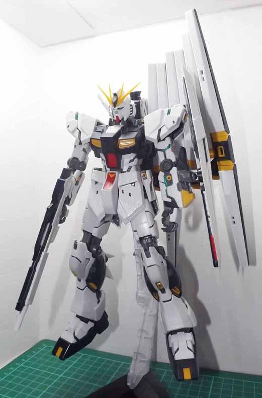 MG RX-93 Nu Gundam Ver. Ka by AndrewMS