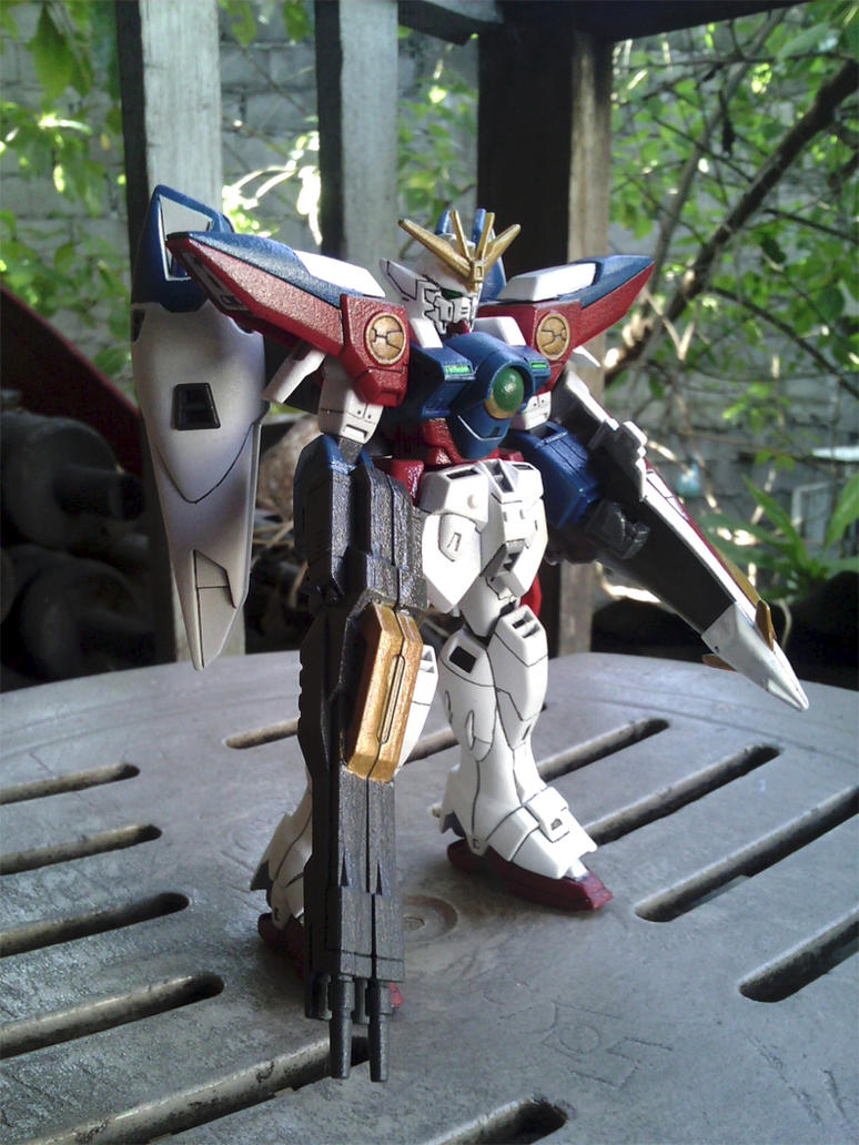 None Grade 1/144 Wing Gundam 0 by AndrewMS