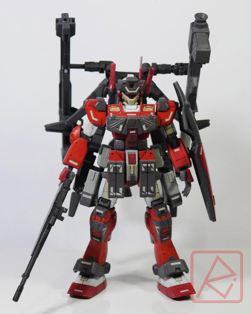 HGBF 1/144 GM Sniper Azkal by AndrewMS