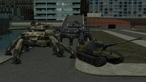 Spider tank and E75
