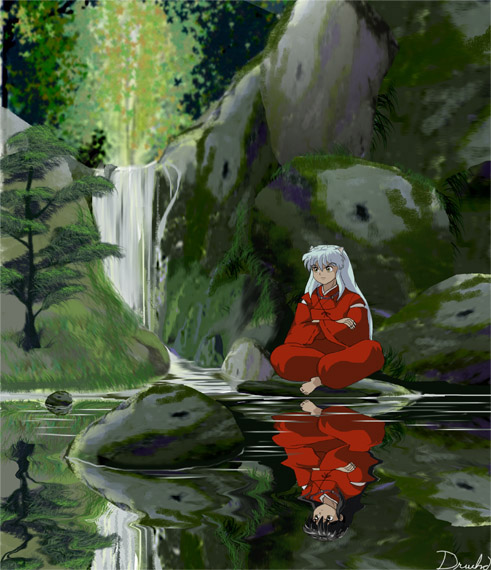 Inu Yasha Reflection