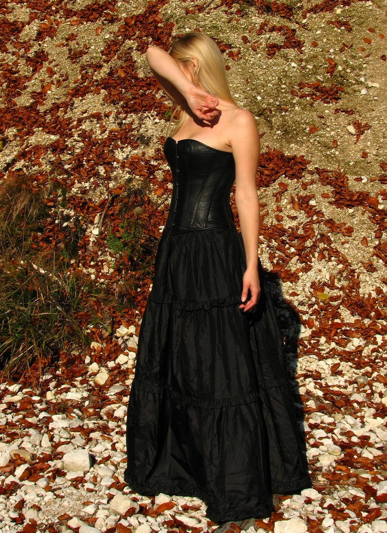 Black Dress 4 by Kuoma-stock