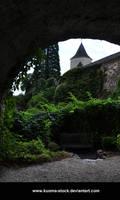 Castle Garden Background